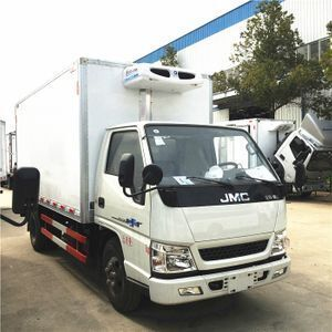 JMC 3-4 tons small meat transport refrigerated truck on