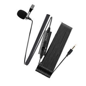 Omnidirectional Lavalier Clip-on Condenser Microphone For Camera