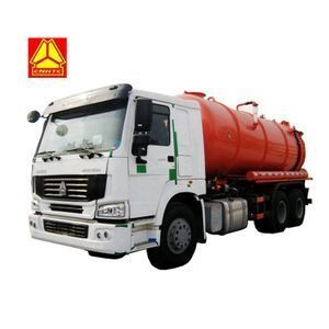 Sinotruk Howo  6x4 18000L Vacuum sewage suction truck for sale