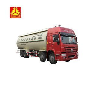 Sinotruk HOWO dry bulk cement carrier truck with Lowest price for sale